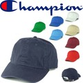 ★春夏新作♪ Champion Brushed Cotton 6-Panel Cap C4001 14669
