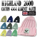 HIGHLAND COTTON 4×4 RIBKNITWATCH  14681