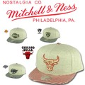 Mitchell&Ness Oatmeal Heather Snapback  14761