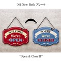 "Old New シリーズプレート ""Open & ClosedII""]"