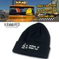KROOKED No Thank You Cuff Beanie  15137