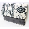 【SALE】ネイティブ×ボア クラッチ バッグ(NATIVE×BOA CLUTCH BAG)