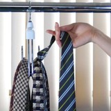 Clothes Hanger Duo Ties Clothes Hanger