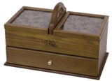 Wooden Sewing Box Clover Series