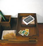 Tray Wooden Miscellaneous goods