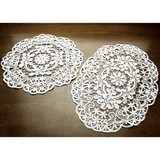 All Lace Series Doily Table Runner