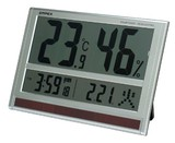 Super Atomic Clock Thermometer & Hygrometer