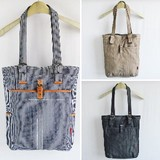Tote Bag Textile Plants Hickory Denim