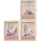 Art Frame Art Girly Dress Resin Frame