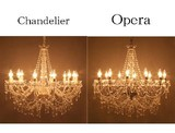 Question Matching Chandelier Opera