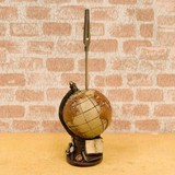 Miniature Card Stand Globe