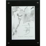 Board Photo Frame Black Postcard