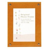 Color Board Photo Frame Yellow Postcard