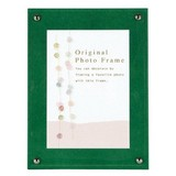 Color Board Photo Frame Green Postcard