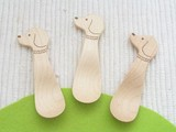 ANIMAL Snack Spoon Maple