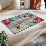 Doormat Lace Elegance Scandinavia Antique Rose Mat