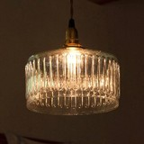 Lamp Glass Round Wave Type