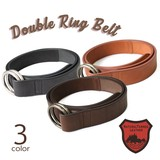 Tochigi Leather Belt Series Ring Leather Belt Cow Leather