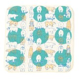 Towel Handkerchief Dot Polar Bear