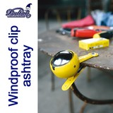 WINDPROOF CLIP ASHTRAY