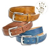 Italy Leather Belt Series Processing Cow Leather Adjustment