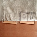 Butterfly Arabesque Wire Series Petit Maison Wall Shelf