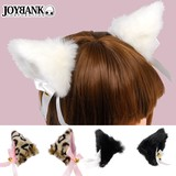 Fluffy Attached Hair Clip Cat Animal Items Cosplay Fancy Goods