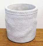 Clearance Sale Planter Cover White Gray