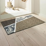 Doormat Traditional Belgium Pattern Modern Beige