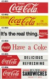 COCA COLA DRINK STICKERS(M)