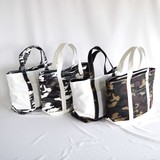 Canvas Camouflage Switching Tote Bag