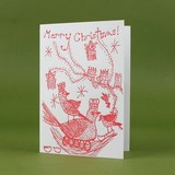 oblation papers&press 活版印刷カード cards by claire クリスマス