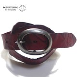 Special Processing Cow Leather Casual Belt