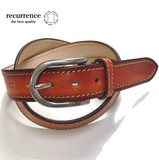 Himeji Tan Leather Use Hand Coating Belt