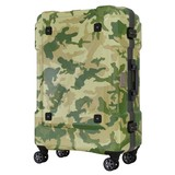 Back Storage Effect Frame Travel Suit Case