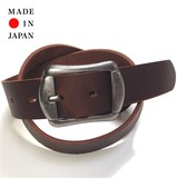 Cow Leather One Sheet Belt