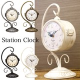 Both Sides Table Clock Clock Hanging
