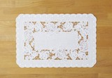 Lace Mat Rose
