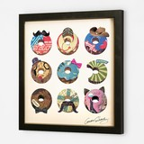 Gift Show Pop Art Collage Series Donut