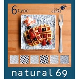 natural69 Square Plate HASAMI Ware