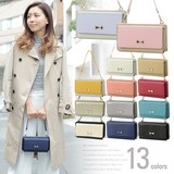 Ribbon Point Wallet Shoulder Bag Intersection
