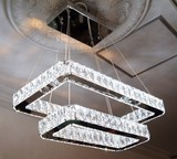 Chandelier Crystal Rectangle