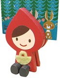 Little Red Riding-Hood Memo Pad Stand