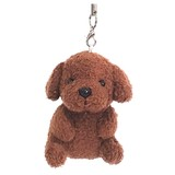 Mobile Phone Cleaner / Sitting Toy Poodle / Eaerphone Jack Plug Accessory