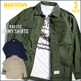 2016 A/W HOUSTON Army Shirt