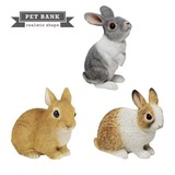 Popular Real Animal Piggy Bank PET BANK Rabbit Pet Bank Rabbit