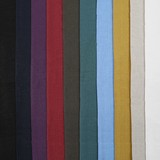 Linen Canvas Fabric 10 Colors Hand Maid Material Material Handmade