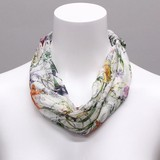 Chiffon Scarf Necklace Silk