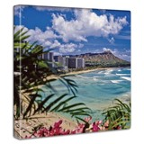 Beach Fabric Panel Interior Art Miscellaneous goods
