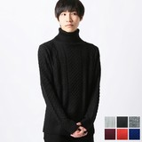 A/W Knitted Turtle Neck